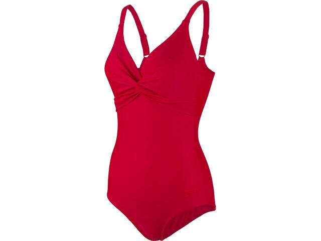 speedo Brigitte Costume da bagno Donna, red
